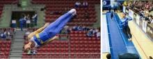 Nio SM-titlar på spel och kval till Nordiska mästerskapen i truppgymnastik