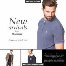 Boomerang, Dr. Martens, Hilfiger Denim, Balmain, Tiger of Sweden/Jeans - Nya varumärken hos Stayhard.se