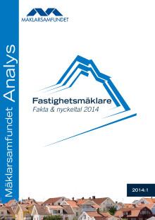 Fastighetsmäklare, Fakta & nyckeltal 2014