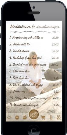 Kreativ Insikt lanserar sin fjärde app, Livskonstnär Meditationer & visualiseringar