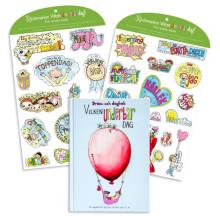 Dröm- och dagbok och klistermärken – Nya barnprodukter som stimulerar och stärker självkänslan och fantasin