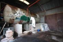 Major toxic waste dump uncovered at Armagh fuel laundering plant