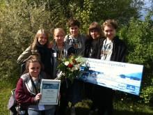 Picknick i parken vann Norrmejerier-stipendiet i Västernorrland