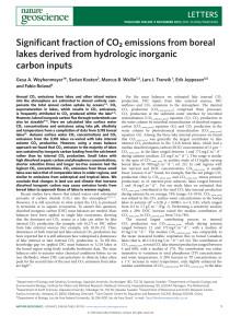 Artikel i Nature Geoscience