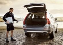 Volvo erbjuder leverans av julklappar och mat direkt till bilen