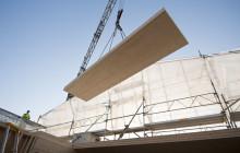 Allt fler byggare använder KL-trä