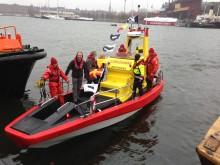 18 miljoner burkar blev sjöräddningsbåt i världsklass