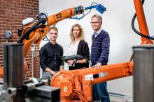 Mjukare robotrörelser sparar upp till 40 procent energi