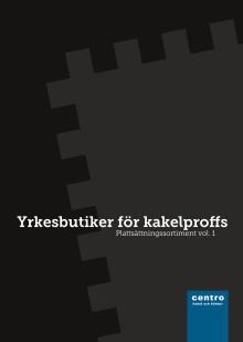 Plattsättningssortiment Vol 1 - Ny katalog ute nu