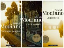 Nobelprisvinner Patrick Modianos bøker på norsk