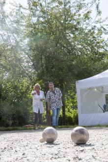 300 väsbybor invigde sin egen park