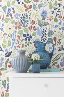 Boråstapeter sätter skandinaviska designklassiker på väggen