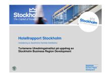 Hotellrapport 2009