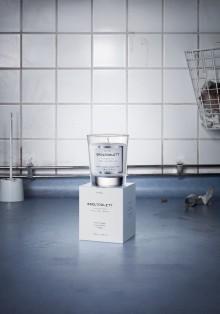 Silverägg för Almegas doftljus