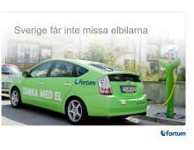 Sverige får inte missa elbilarna