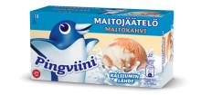 Raikasta maitoa vai täyteläistä kermaa? Syksyn jäätelöuutuuksissa maistuvat molemmat!