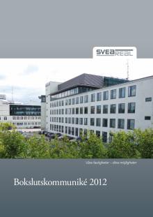 SveaReals Bokslutskommuniké 2012