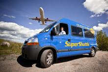 Flygbussarna avbryter satsningen på SuperShuttle