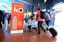 Läkande pantburkar en framgång på flygplatserna