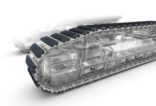 Volvo gummipads – ett fastbultat system som ökar grävmaskinens mångsidighet