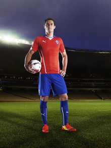 PUMA INTRODUCES CHILE KITS FOR THE 2014 FIFA WORLD CUP™