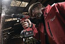 Längre driftstid med Milwaukee's nya M18 REDLITHIUM-ION™ 5,0 Ah batteri!