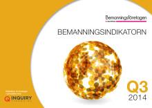 Bemanningsindikatorn Q3 2014