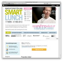 Vinnarna i innovationstävlingen Smart Lunch är utsedda