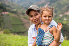 Zoégas på plats i Colombia:  Kvinnor och unga säkrar kaffets framtid