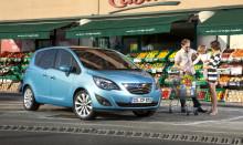Full pott: Fem stjärnor för nya Opel Meriva i Euro NCAP
