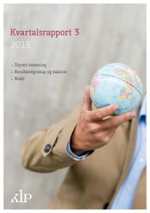 Kvartalsrapport Q3 2013