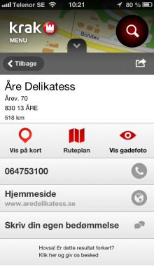 Søg lokalt med Krak i Sverige og Norge