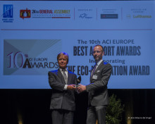 Oslo Airport receives prestigious environment award
