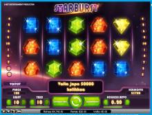 Voitti €20,000 Starburst superslotissa