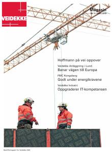 Veidekke Magasin 1 2010