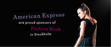 American Express sponsrar Fashion Week