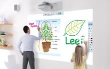 Epsons interaktive projektorer nå tilgjengelig over hele verden med SMART Notebook-programvare