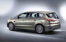 Fordin täysin uusi S-MAX, uusi C-MAX ja Euroopan markkinoille tuleva Ford Mustang esillä Pariisin autonäyttelyssä