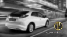 """Guldknoppen 2013 - Tar Honda Civic hem kategorin """"Årets Bilmodell""""?"""