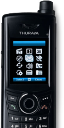 Thuraya XT DUAL - den mest kompletta satellittelefonen med både GSM och satellit