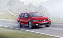 Säljstart för nya Volkswagen Golf Alltrack
