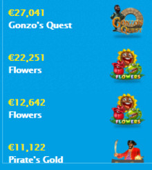Gonzo's Quest - 27,000 euro big win  - see each spin here