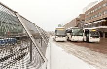 Trafikrapport från Swebus: 42 extrabussar till nyår