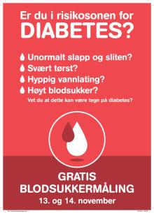 Verdens diabetesdag - gratis blodsukkermåling i alle Boots apotek