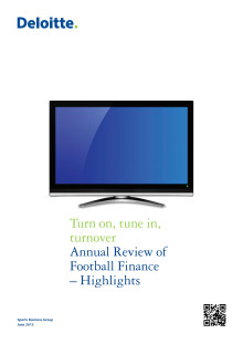 Deloitte Annual Review of Football Finance 2013 - Highlights