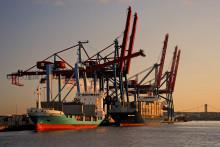 Ränteraset satte fart på Göteborgs export