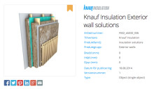 Knauf Insulation launches their products as BIM objects
