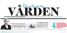 """Praktikertjänsts tidning """"Den goda privata vården"""" i Dagens Nyheter söndag den 30 mars"""