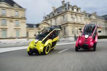 Ultrakompakta fordon och kollektivtrafik ger hållbara transporter i Grenoble