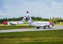 Passasjerrekord og solid punktlighet for Norwegian i mai